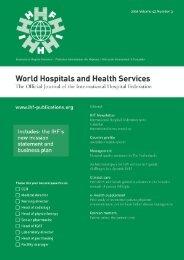 World - International Hospital Federation