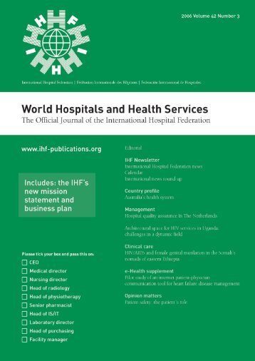 World - International Hospital Federation
