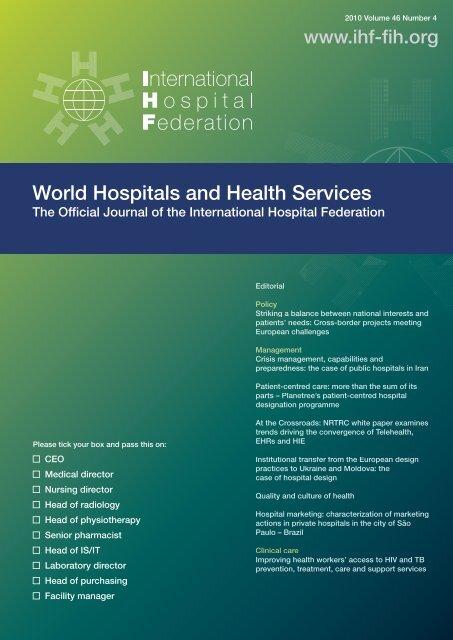 HR_vol46 4 web ready pdf - International Hospital Federation