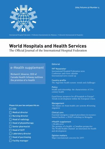 World Hospitals and Health Services - International Hospital ...