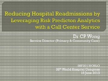 Chun Por Wong - International Hospital Federation