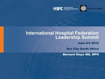 Bernard Olayo.pdf - International Hospital Federation