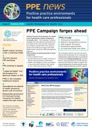 Download PPE news - Summer 10 - What is the PPE Campaign?