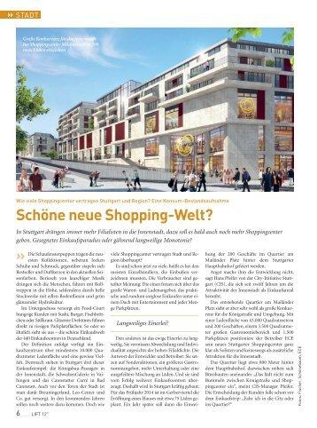 Schöne neue Shopping-Welt? - Kessel