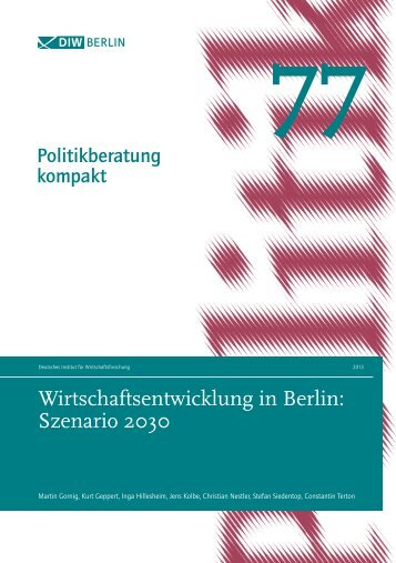 Studie zum Download - IHK Berlin