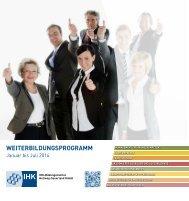WBP 1_2014 - beim IHK-Bildungsinstitut Hellweg-Sauerland GmbH