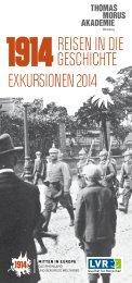 1914. Reisen in die Geschichte