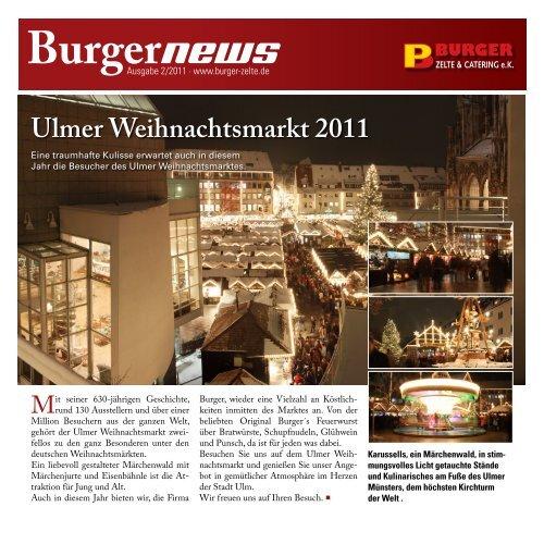 Burgernews - Burger Zelte & Catering