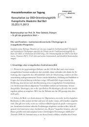 Peter Dabrock - Evangelische Akademie Bad Boll