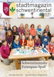 November - Stadtmagazin Schwentinental