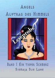 Leseprobe Angels Auftrag des Himmels Band 1 - Hierophant-Verlag