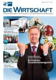 Umschlag Sept2013.indd - IHK Bonn/Rhein-Sieg