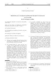 VERORDNUNG (EG) Nr. 1013/2006 DES EUROPÄISCHEN ... - SAM