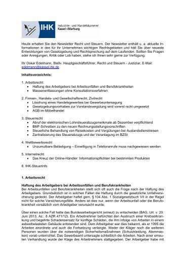 Arbeitsvertrag Fr Geringfgig Entlohnte Beschftigte Ihk