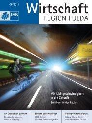 Mit Lichtgeschwindigkeit in die Zukunft - IHK Fulda