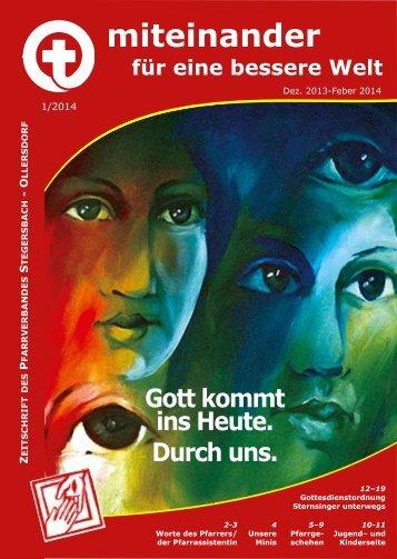 Pfarrblatt 1/2014 - Pfarre Stegersbach