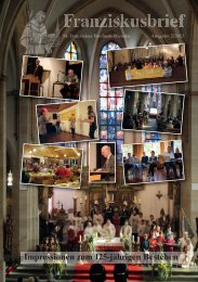 Franziskusbrief_2_2013_Layout 1 - St. Franziskus Bochum-Riemke