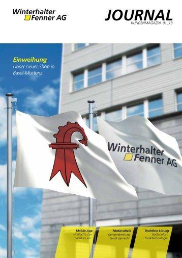 Einweihung - Winterhalter + Fenner AG