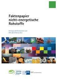 Nicht-energetische Rohstoffe - Deutscher Industrie- und ...