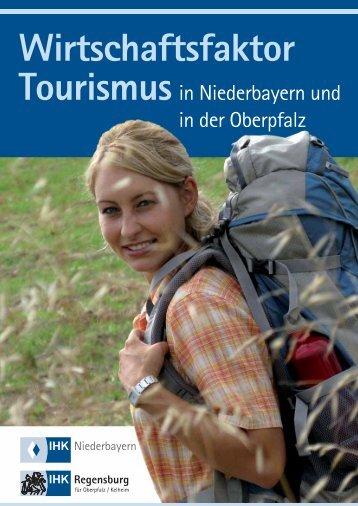 """Studie """"Wirtschaftsfaktor Tourismus - IHK Regensburg"""