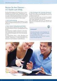 Nutzen Sie Ihre Chancen – in 3 Stufen zum Erfolg - IHK Niederbayern