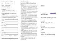 LEHRGANG Fachkraft Rechnungswesen - IHK Niederbayern