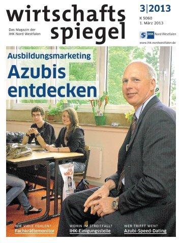 Azubis entdecken - und Handelskammer Nord Westfalen