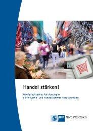 Handel stärken! - und Handelskammer Nord Westfalen
