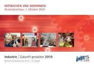 Zukunft gestalten 2010 - und Handelskammer Nord Westfalen