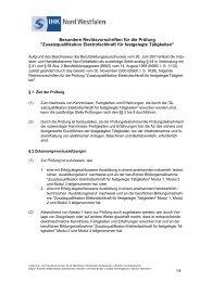 Zusatzqualifikation Elektrofachkraft für festgelegte Tätigkeiten - und ...