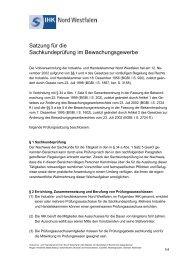 Satzung Bewachung IHK NW WISPI - und Handelskammer Nord ...