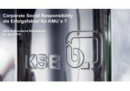 CSR - und Handelskammer Nord Westfalen