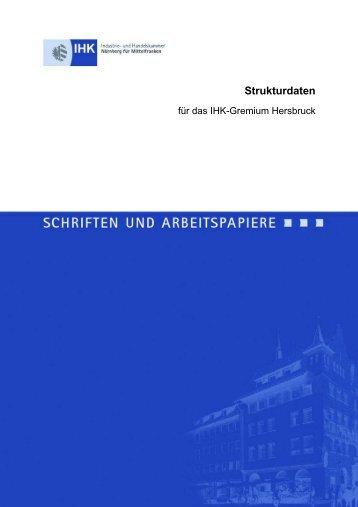 Strukturdaten - IHK Nürnberg für Mittelfranken