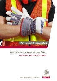 Persönliche Schutzausrüstung (PSA) - Bureau Veritas