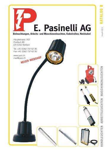 Katalog B - E. Pasinelli AG