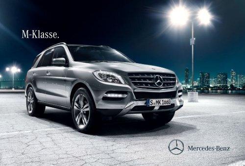 Broschüre der M-Klasse herunterladen (PDF) - Mercedes-Benz ...