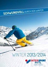 WINTER 2O13/2O14 - Intersport Pittl