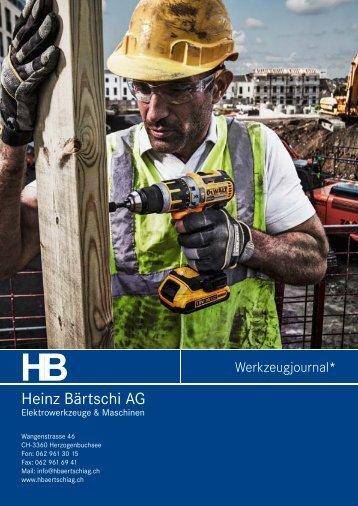 unser Werkzeugjournal Herbst 2013 herunterladen - HB Heinz ...