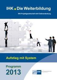 IHK Die Weiterbildung - IHK-Projektgesellschaft mbH