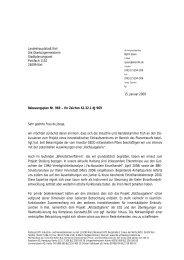 Landeshauptstadt Kiel Die Oberbürgermeisterin Stadtplanungsamt ...