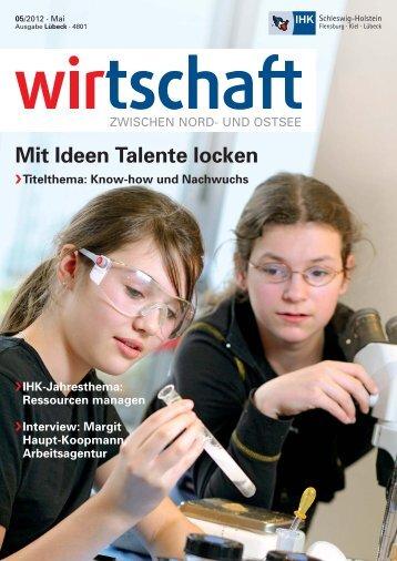 Mit Ideen Talente locken - IHK Schleswig-Holstein
