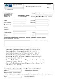 """Seminar 1: """"Planungsgrundlagen"""" 29. Mai 2013 ... - IHK Südthüringen"""