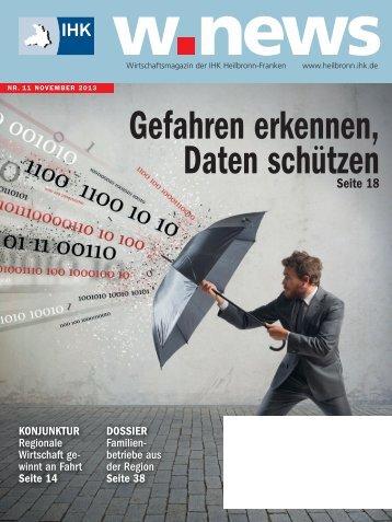 Die w.news als PDF-Datei herunterladen