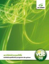 architekturpolitik