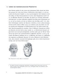 2. Lernen aus neurobiologischer Perspektive - Hueber