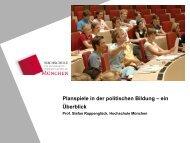 Planspiele in der politischen Bildung – ein Überblick - Akademie für ...