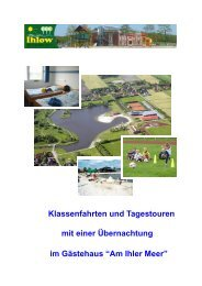 Am Ihler Meer - Gemeinde Ihlow