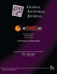 GLoBAL ANTIVIRAL JoURNAL - IHL Press