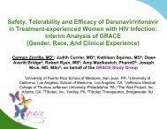 Safety, Tolerability and Efficacy of Darunavir/ritonavir in ... - IHL Press