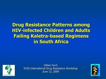 Drug resistance patterns among HIV-infected children ... - IHL Press